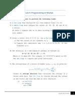Lab3_Programming in Matlab