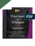 AVSystem CPE Auto Provisioning vs. CPE Management