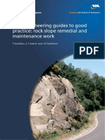 TRL PPR 555 - Rock Engineering Guides to Good Practice
