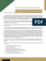 Análisis de Cartas Marruecas de José Cadalso