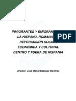 II Emigracion a Hispania Durante El Siglo i A