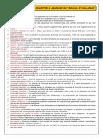 Fiche de Synthèse CHAP 4 - Marché Du Travail Et Salariat (2012-2013)