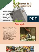 Impacto Ambiental de La Industria Alimentaria