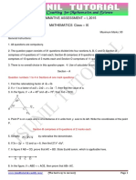 9th Maths Sample Question Paper 2015 -4