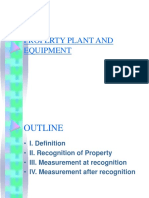 Property Plant and Equipment