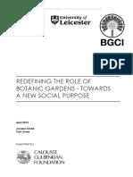 Studiu Rolul Social _ Analiza Pe Studii de Caz_interviuri_Redefining the Social Role of Botanic Gardens