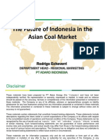 Future of Indonesia in the Asian Coal Markets