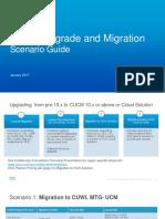 Cucm Upgrade Migration Scenario Guide