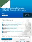 CCW-R Executive Deck External