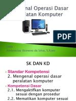 Mengenal Operasi Dasar Peralatan Komputer TIK Kelas 7 Sem 1 ( Bonie ) Mematikan Komputer