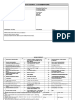 risk assessment form production media 4 1