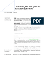 A Framework for Auditing HR