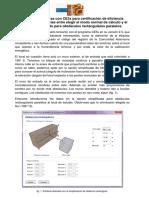 Diferencias en El Cálculo de Sombras Con CE3x Para Certificación de Eficiencia Energética