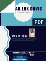 Hannah Lux Davis