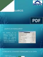 Formularios en Excel