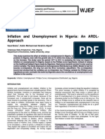 Inflation and Unemployment in Nigeria