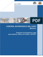 Manual para el Control Estrategico del Caso - Bolivia