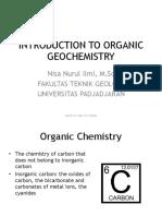 geokimia organik