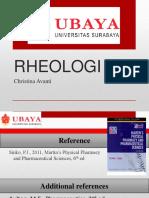 Farfis i - Rheologi
