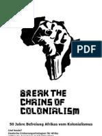Afrika Faltblatt 2010 Deutscher Imperialismus