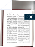 ChRussell the Value of Philosophy