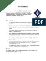 Norma IEEE y Apa