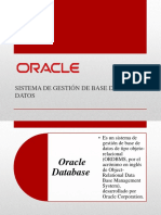 Oracle - caracteristicas generales