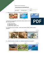 EVALUACION de Ciencias Naturales 22