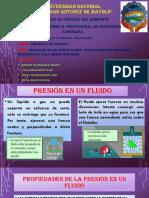 Presiones en Un Medio Fluido, Transmicion de Presiones ,Dispositivos Para Medir Presiones (2)