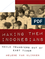 Helene Van Klinken - Making Them Indonesians