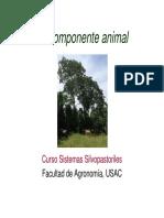 Componente Animal en SSP Bovinos2014
