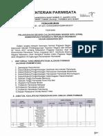 2017 pengumuman CPNS KEMENPAR - UPDATE 04092017 ver_II - OK KIRIM.pdf