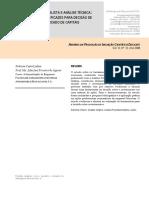 B - [ARTIGO LARANJA] Análise Fundamentalista e Análise Técnica - Duas Ferramentas Eficazes Para a Decisão de Investimento No Mercado de Capitais