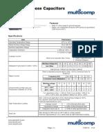 Cap Electrolitic 10-100V - 0.1 to 22000uF Datasheet