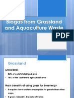 Biogas From Grassland and Aquaculture Waste