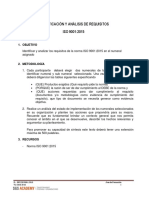 Taller Requisitos de Norma ISO 9001