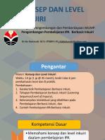 Ppt.konsep Inquiry Dan Level Inqiry