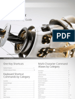 Autodesk Inventor, Shortcut Key Guide