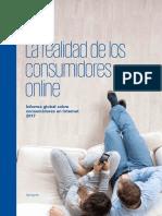 KPMG Global. Paper La Realidad de Los Consumidores Online.