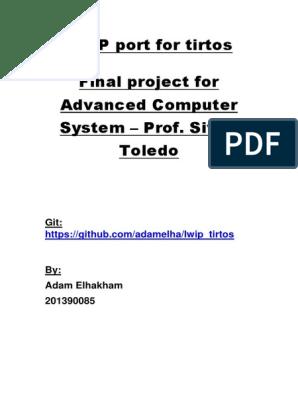 lwip_port | Port (Computer Networking) | Network Socket