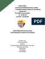 Kertas Kerja Klinik Dan Kepengadilan BJ - KPLI JAN 2010-1