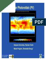PV Solar 2008 Presentation