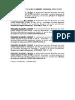 RESULTADO DA VOTAÇÃO 43ª SESSÃO ORDINÁRIA DE 21.docx