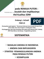 ANEMIA Pada REMAJA_pres EA_lebak20Feb17