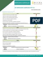 Informe de Mercados Agrícolas N° 14