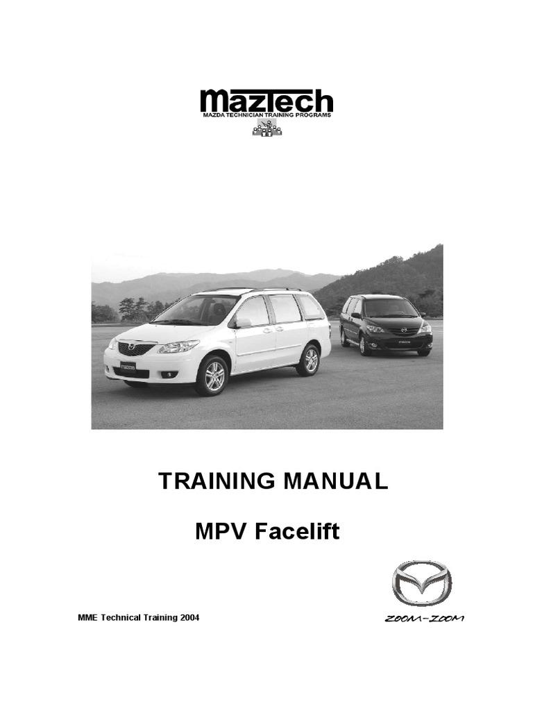 Mazda 3 Service Manual: Mass Air Flow (MAF) Sensor Inspection Mzr 2.0, Mzr 2.5