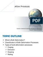 6 - Bulk Deformation Processes
