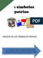 Los Simbolos Patrios Panama