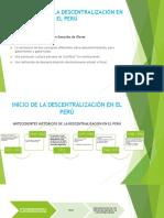 Los Prismas de La Descentralización en El Perú