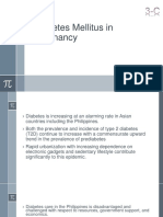 Diabetes Mellitus in Pregnancy2